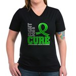 Kidney Disease Fight For A Cure Women's V-Neck Dar