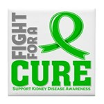 Kidney Disease Fight For A Cure Tile Coaster