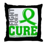 Kidney Disease Fight For A Cure Throw Pillow