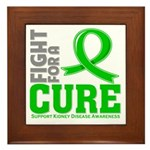 Kidney Disease Fight For A Cure Framed Tile