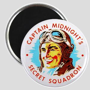 Captain Midnight's Secret Squ Magnet