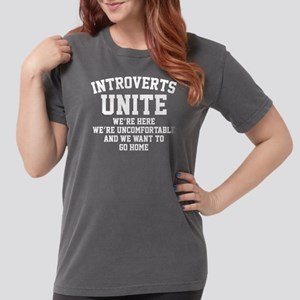 IntrovertsUniteHome1B Womens Comfort Colors Shirt