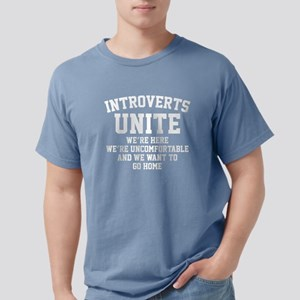 IntrovertsUniteHome1B Mens Comfort Colors Shirt