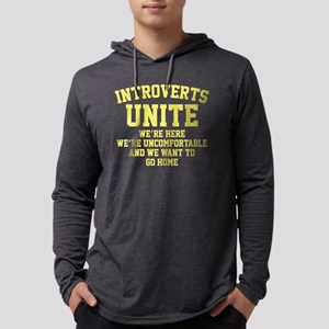 IntrovertsUniteHome1D Mens Hooded Shirt
