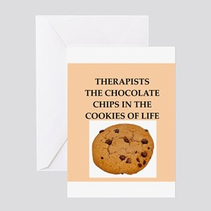 therapist Greeting Card