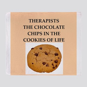 therapist Throw Blanket