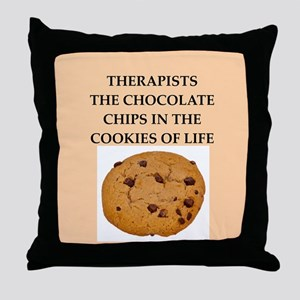 therapist Throw Pillow