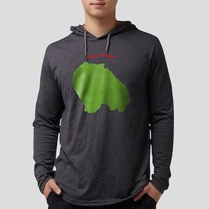 pom-holiday Mens Hooded Shirt