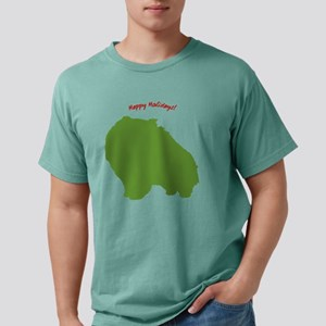 pom-holiday Mens Comfort Colors Shirt