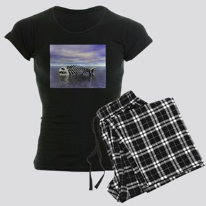 Fish Bones Women's Dark Pajamas