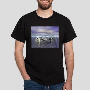 Fish Bones Dark T-Shirt