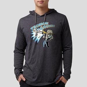 trombonegoddess Mens Hooded Shirt