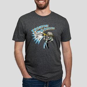 trombonegoddess Mens Tri-blend T-Shirt