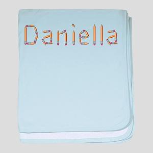 Daniella Pencils baby blanket