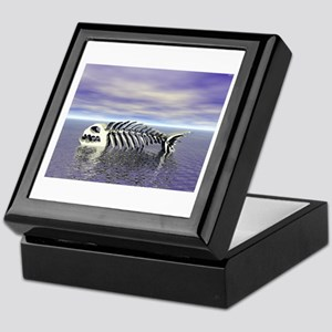 Fish Bones Keepsake Box