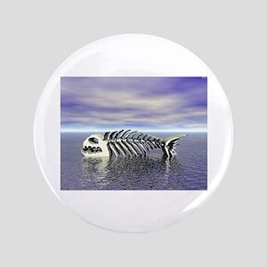 "Fish Bones 3.5"" Button"