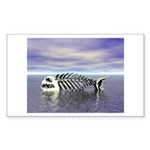 Fish Bones Sticker (Rectangle 50 pk)