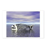 Fish Bones Postcards (Package of 8)