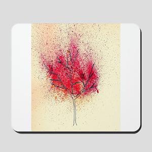 fire tree Mousepad