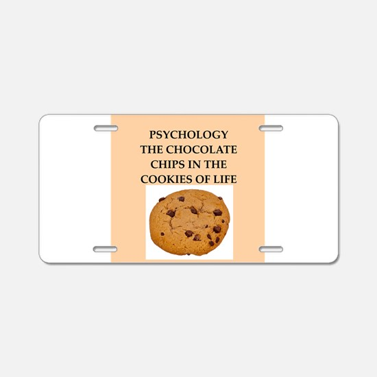 PSYCHOLOGY.png Aluminum License Plate