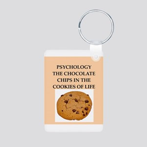 PSYCHOLOGY Aluminum Photo Keychain