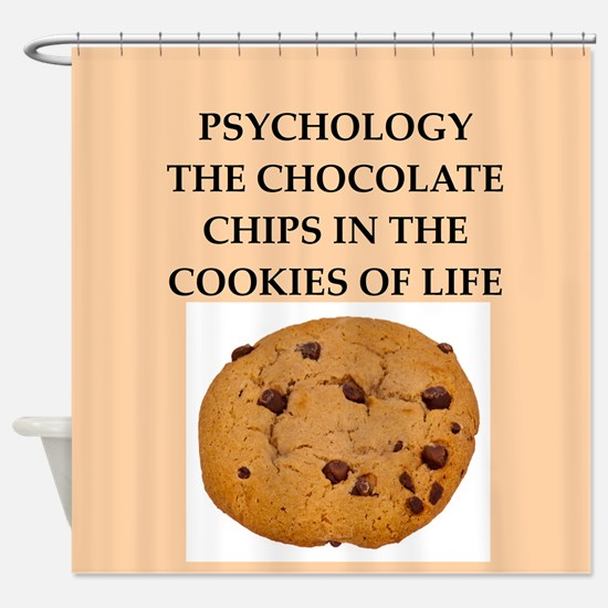 PSYCHOLOGY.png Shower Curtain