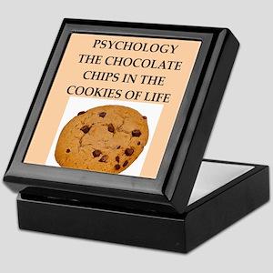 PSYCHOLOGY Keepsake Box