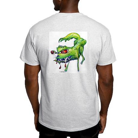 Angry kitty Ash Grey T-Shirt