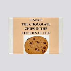 piano Rectangle Magnet (10 pack)
