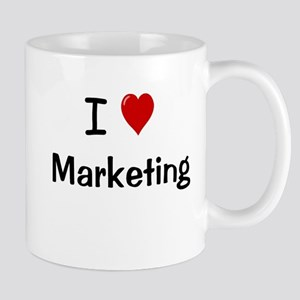 I Love Marketing Office Mug