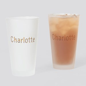 Charlotte Pencils Drinking Glass