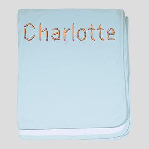 Charlotte Pencils baby blanket