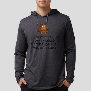 Monkey Job Mens Hooded Shirt