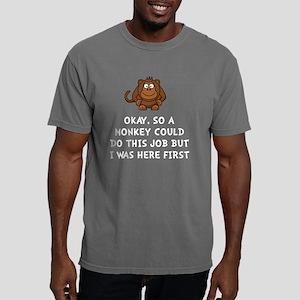 Monkey Job Mens Comfort Colors Shirt
