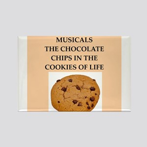 musicals Rectangle Magnet