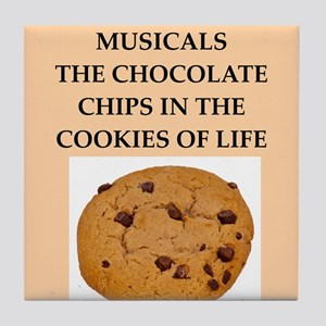 musicals Tile Coaster