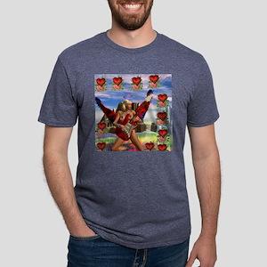 RockAngelV3 Mens Tri-blend T-Shirt
