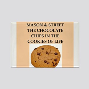 mason and street Rectangle Magnet