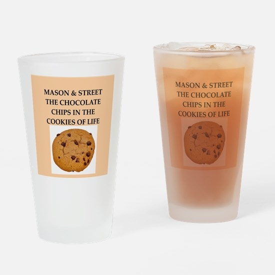 mason and street Drinking Glass