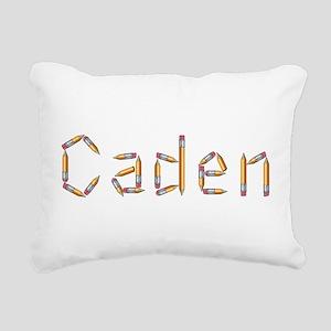Caden Pencils Rectangular Canvas Pillow