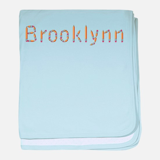 Brooklynn Pencils baby blanket