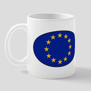 EU Oval Flag Mug