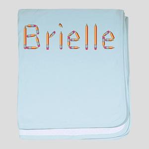 Brielle Pencils baby blanket