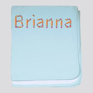 Brianna Pencils baby blanket