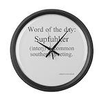 Supfuhker Large Wall Clock
