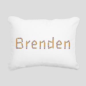 Brenden Pencils Rectangular Canvas Pillow