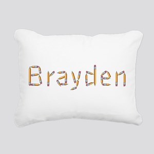 Brayden Pencils Rectangular Canvas Pillow