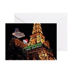 Christmas Mouse on LV Eiffel Tower GC (Pk of 20)