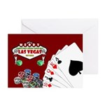 Poker Christmas Greeting Cards (Pk of 20)