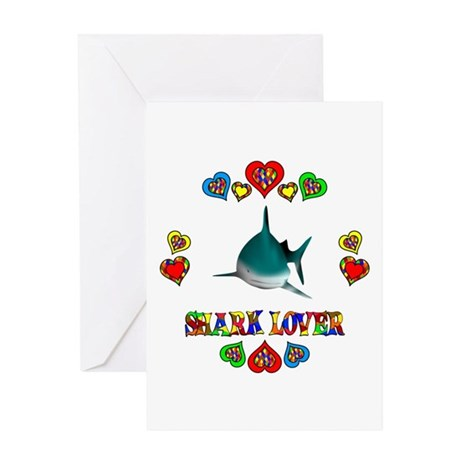Shark Lover Greeting Card